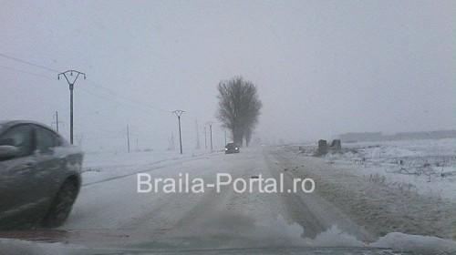 Starea drumurilor Brăila - 27.12.14