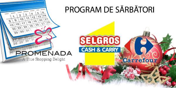 Programul de sărbători al HiperMarket-urilor din Brăila - 2015