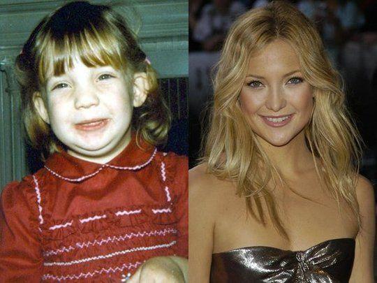Celebrităţi urâte mici, frumoase mari