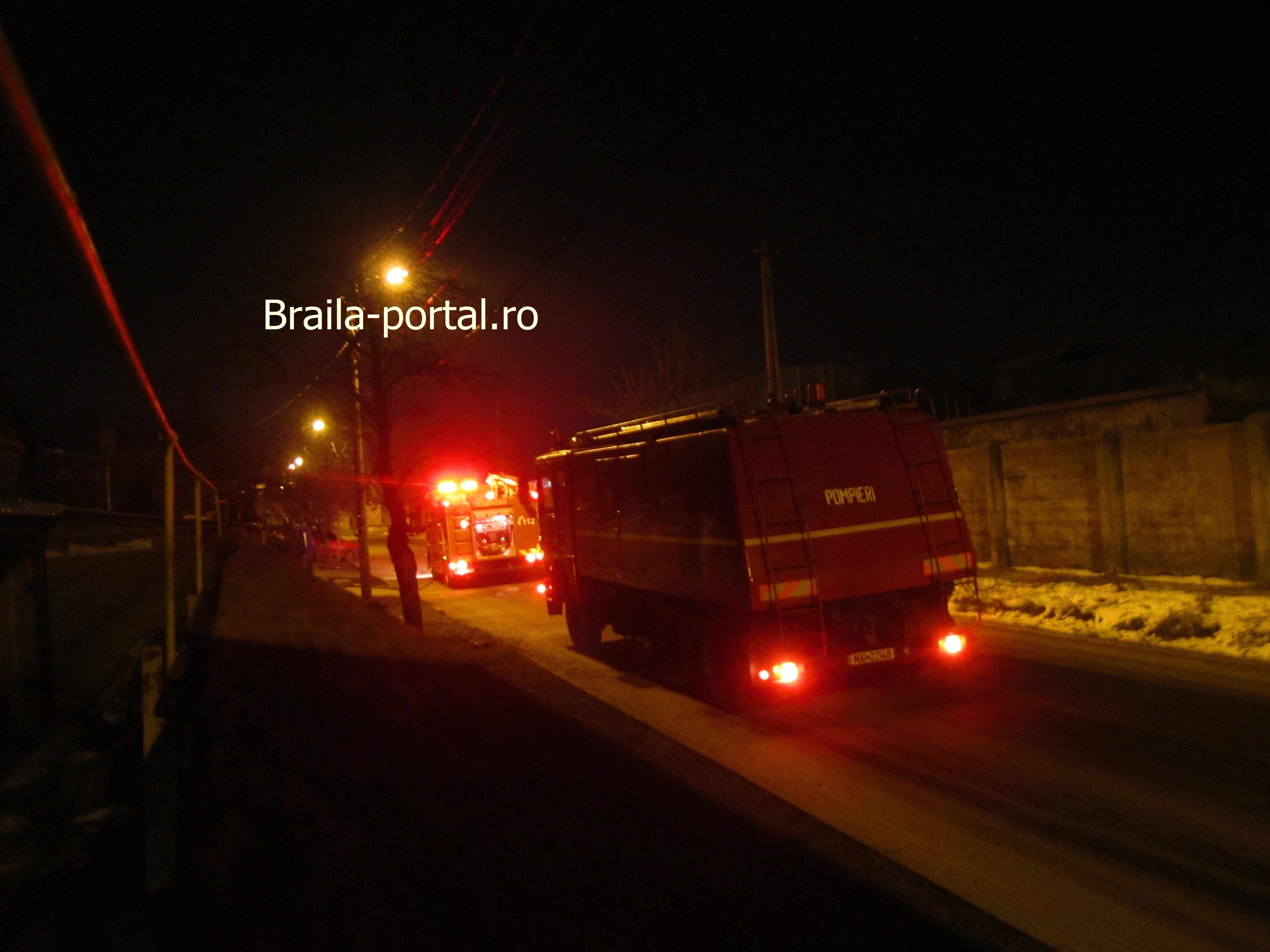 Incendiu în această seară în Brăila