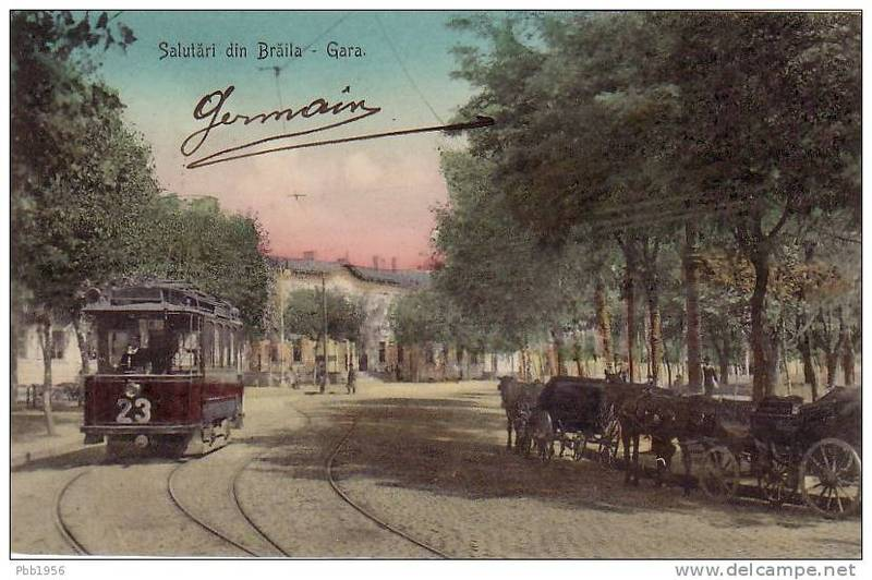 Vechea gară a Brăilei