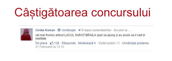 Photo of Câştigătoarea Concursului 8 Martie Brăila Portal