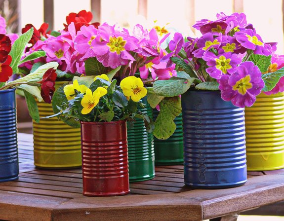 Can-flower-pots