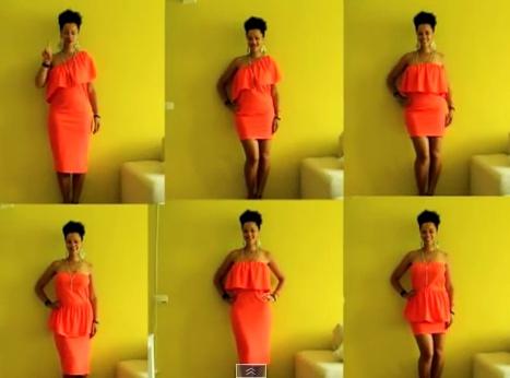 O singură rochie purtată în 6 feluri