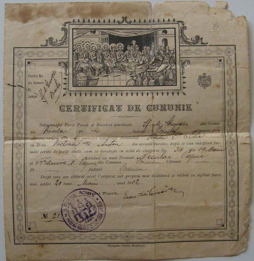 Photo of Cărţi, reviste, documente, acte vechi despre Brăila