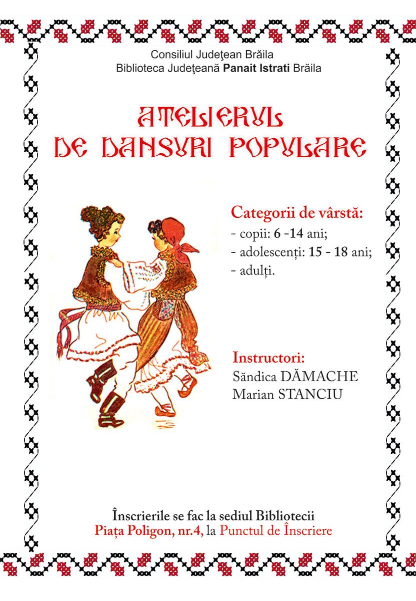 Photo of Atelier Dansuri Populare la Biblioteca Județeană