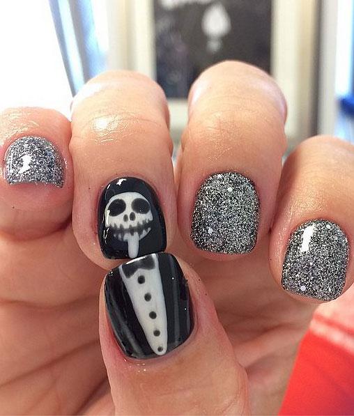 25 de modele de unghii pentru Halloween