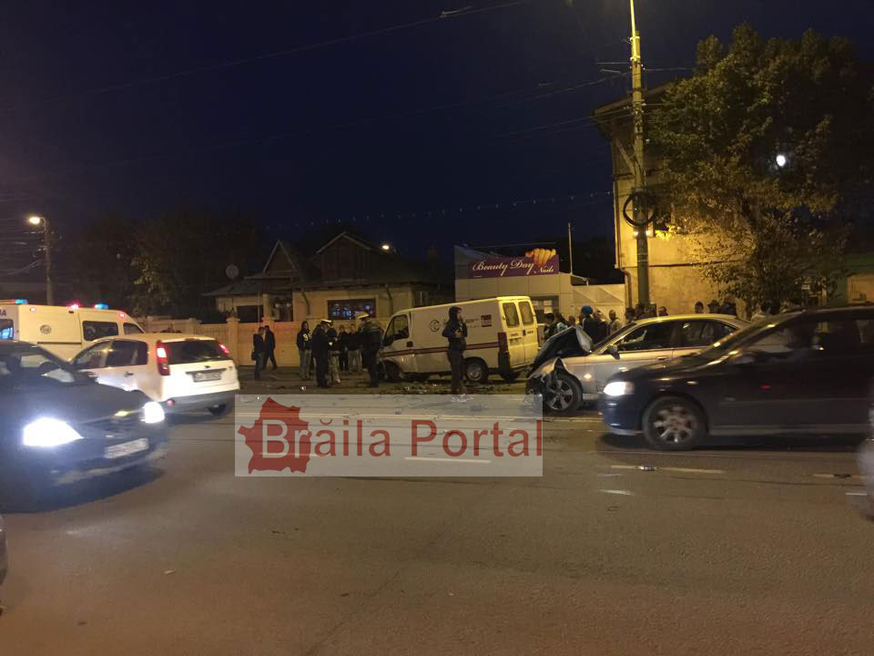 Accident pe B-dul Dorobanților