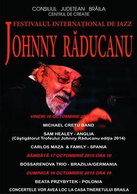 """Photo of Ediția a III a a Festivalului Internațional de Jazz """"Johnny Răducanu"""""""