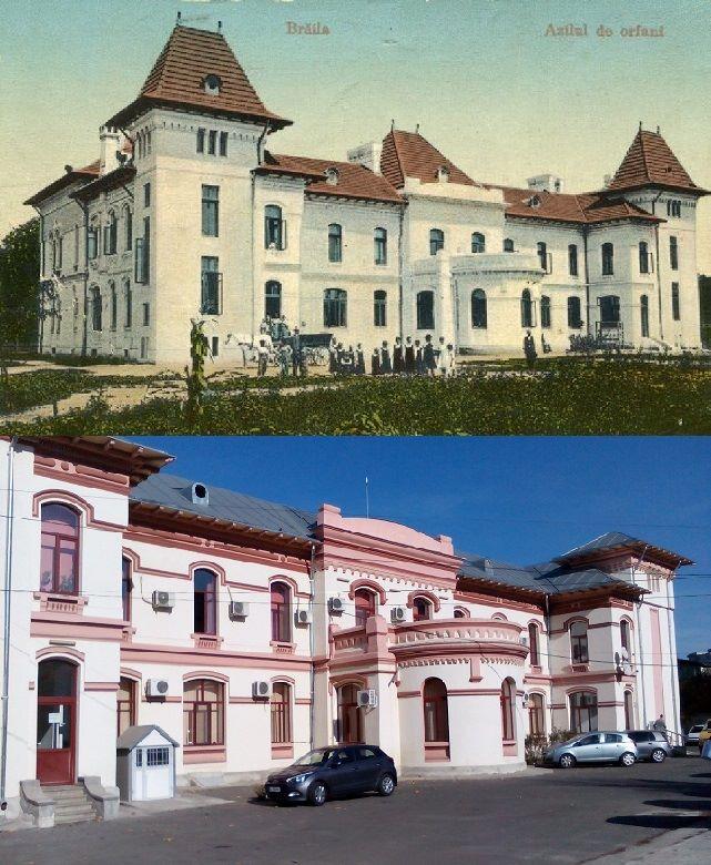 Brăila veche - Clădirea Azilului de orfani, ieri şi azi (1906-1915)