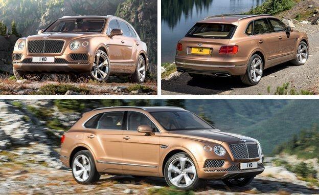 Lux la pătrat - Bentley Bentayga