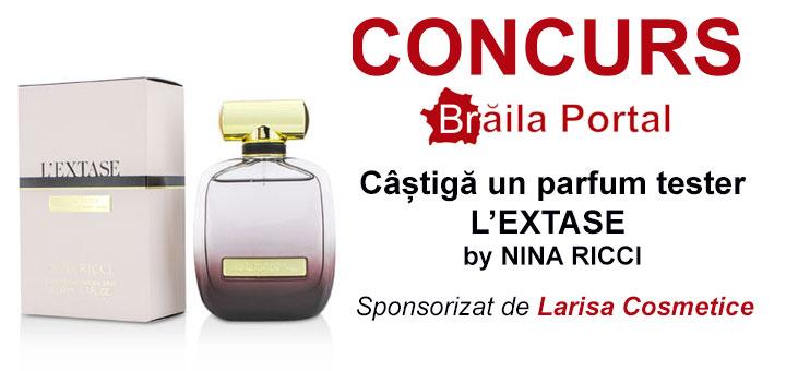 Câștigă un parfum tester L ' EXTASE by NINA RICCI