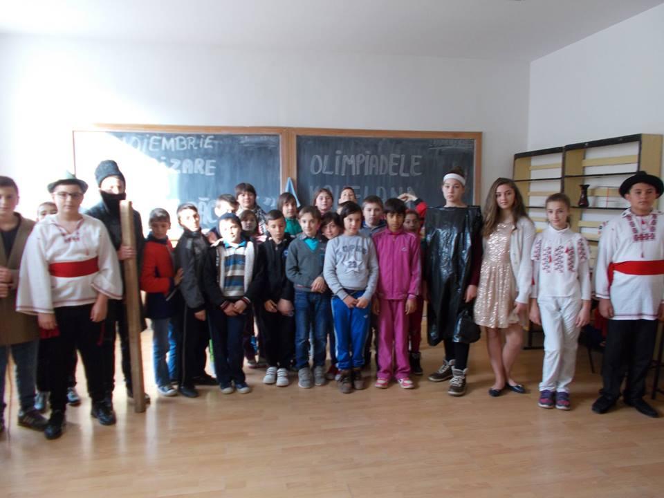 Incursiune în lirica românească, proiect educațional județean la Mircea Vodă