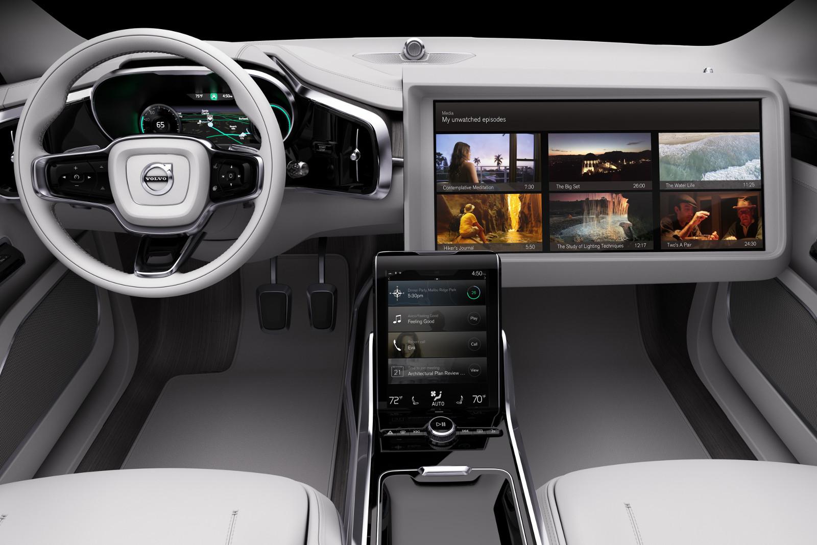 Mașina viitorului CONCEPT 26 - VOLVO