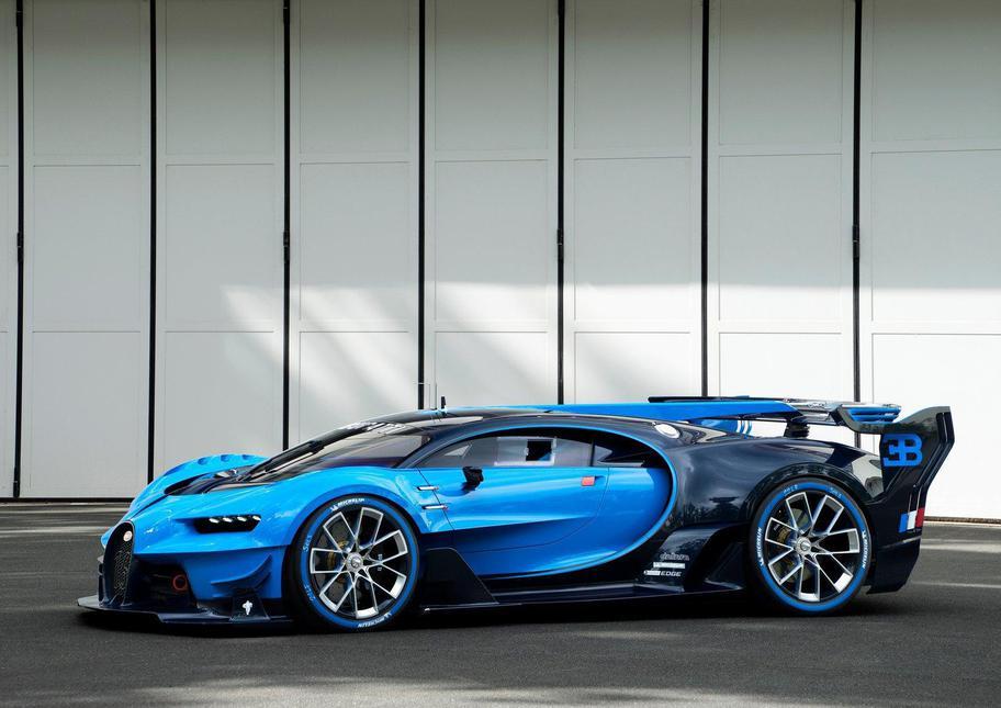 Mașina care își schimbă singură culoarea - Bugatti ''Vision Gran Turismo''