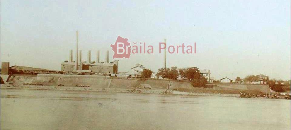 Fabrica de ciment PORTLAND BRAILA / Arhiva personala PETRE MARAVELA