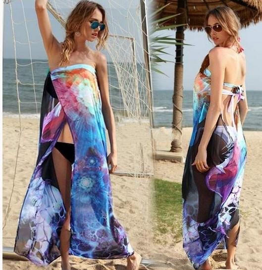 11 moduri de a purta un pareo, nu doar la plajă