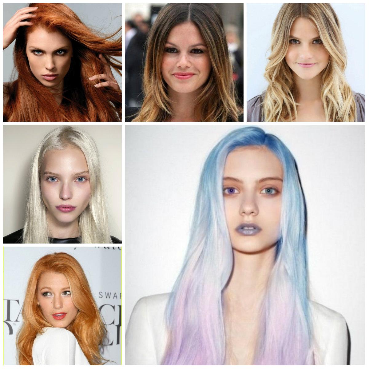 Ce culori de păr se poartă în 2016?