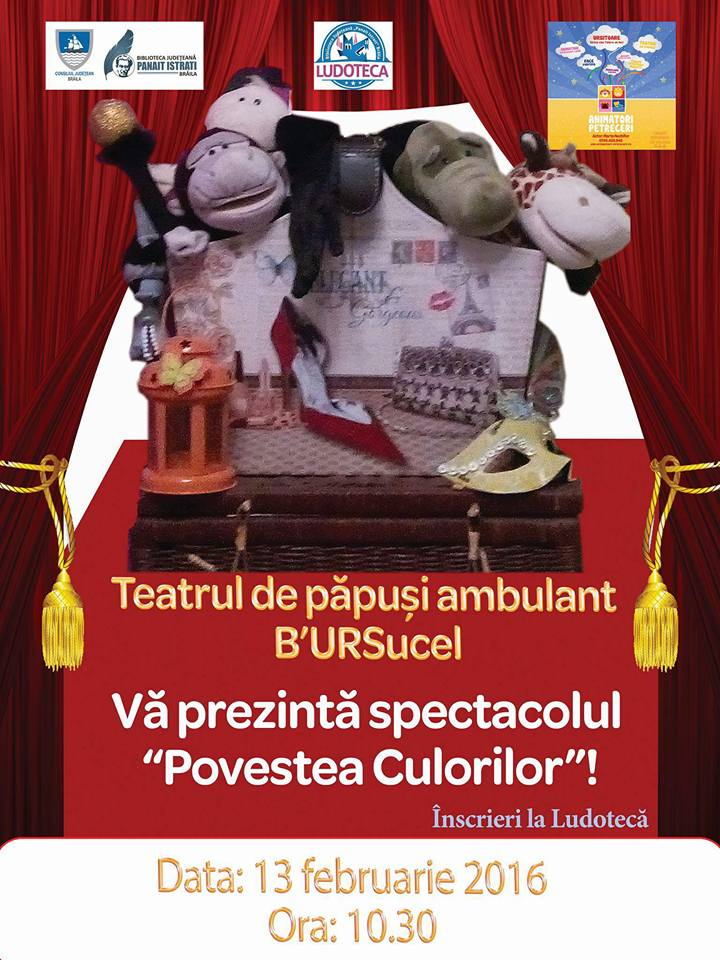 "Photo of Teatrul de păpuși ambulant ""B'URSucel"""