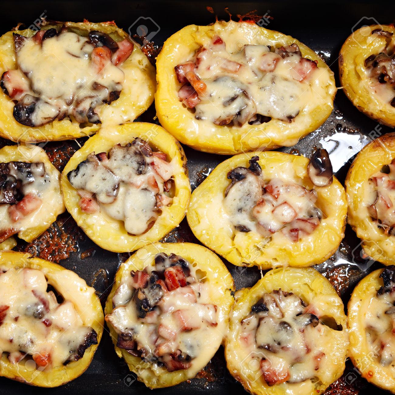 Photo of Cartofi cu ciuperci la cuptor