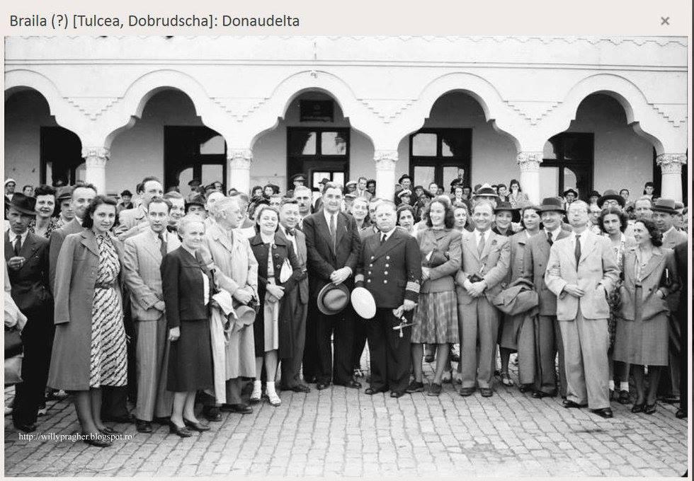 Photo of Willy Pragher în vizită la Brăila