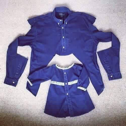 Cum să-i faci copilului din haina ta ceva frumos și util
