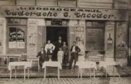 """Imagini cu restaurantul """" La Dobrogeanul"""" - din Brăila 1932"""