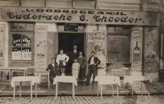 """Photo of Imagini cu restaurantul """" La Dobrogeanul"""" – din Brăila 1932"""