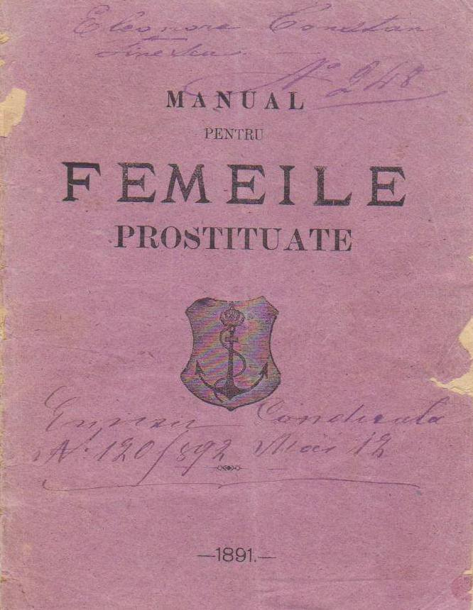 """Photo of """"Condicuța"""" unei prostituate din 1891 – Arhivă personală Valerică Butoi"""