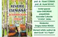 """Lansarea de carte """"Reverie eseniană"""