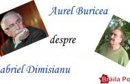 UN CRITIC LITERAR ERUDIT – GABRIEL DIMISIANU – articol de  Aurel M. Buricea