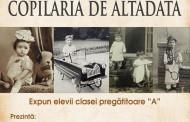 Copilăria de altădată - expoziție la Biblioteca Județeană