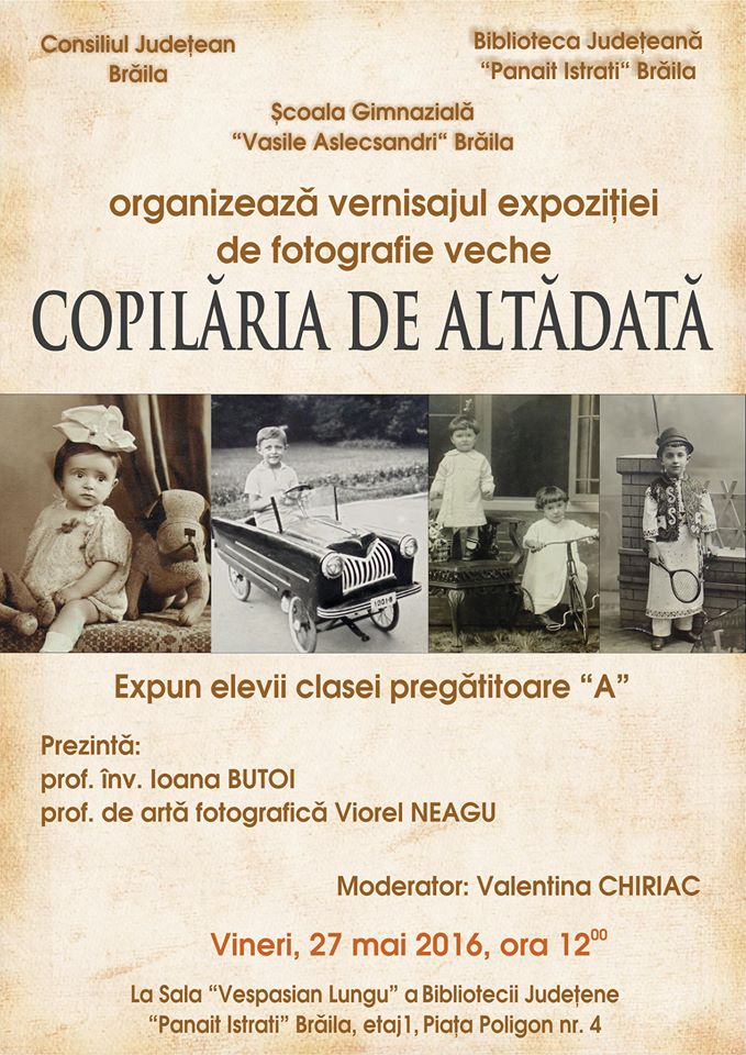 Photo of Copilăria de altădată – expoziție la Biblioteca Județeană