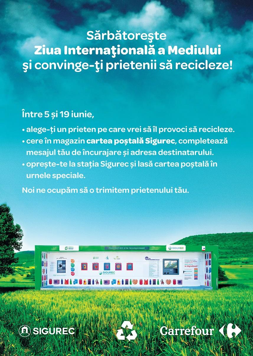 Carrefour sărbătorește Ziua Mondială a Mediului