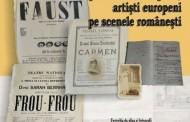 ARTIŞTI ROMÂNI PE SCENELE EUROPENE,  ARTIŞTI  EUROPENI  PE SCENELE  ROMÂNEŞTI