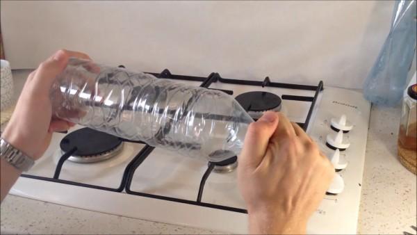 5 idei practice cu sticlele de plastic