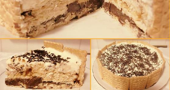 Photo of Prăjitura fără coacere din biscuiți și nutella