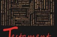 Testament - 120 de poeți români, dintre care și brăileanul Aurel M.Buricea