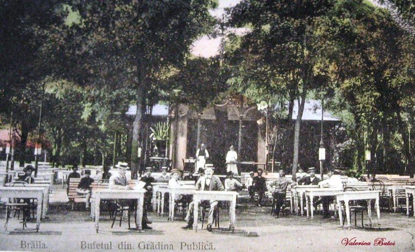Brăila - Bufetul din Grădina Publică