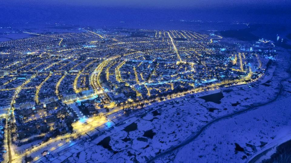 Photo of Iarna privită de sus, în Brăila