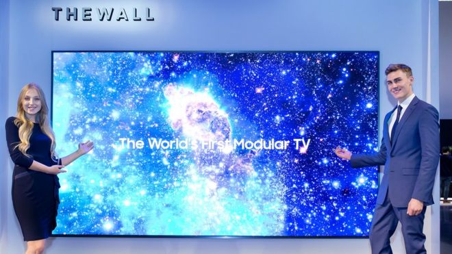 Samsung Wall TV, primul televizor modular microLED