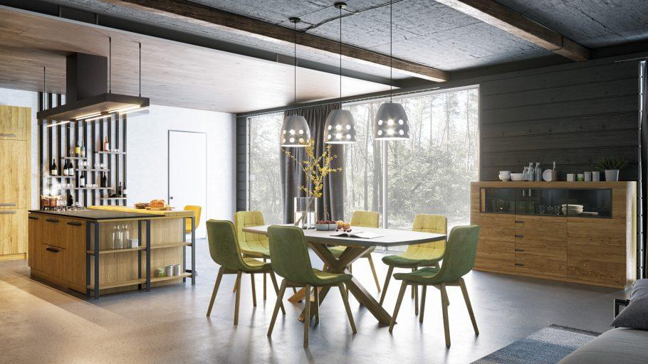 Brand exclusivist de mobilă din lemn masiv de stejar la Brăila - Lismaster