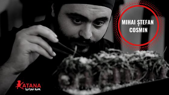 Photo of Mihai Ștefan Cosmin: bucătarul brăilean al restaurantului KatanaSushi ce gătește cu respect față de mâncare!